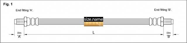 FT3256 размер шланга K&K с фото