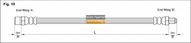 Шланг K&K fig. 10