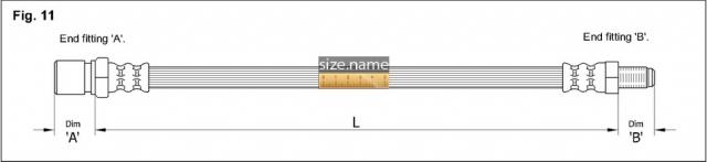 Шланг K&K fig. 11