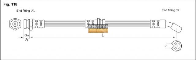 Шланг K&K fig. 118