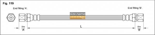 Шланг K&K fig. 119
