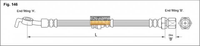 FT0604 размер шланга K&K с фото