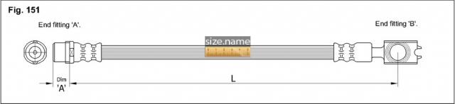 Шланг K&K fig. 151