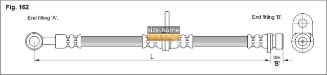 Шланг K&K fig. 162