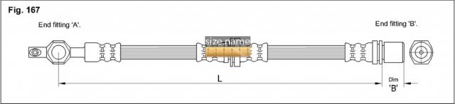 FT0006 размер шланга K&K с фото
