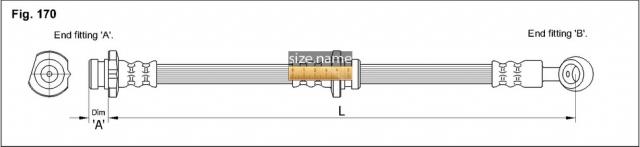 Шланг K&K fig. 170