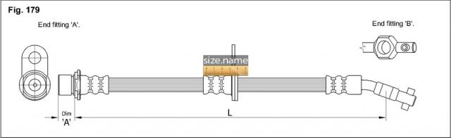 FT2166 размер шланга K&K с фото