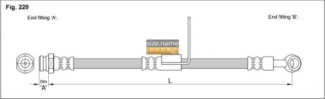Шланг K&K fig. 220
