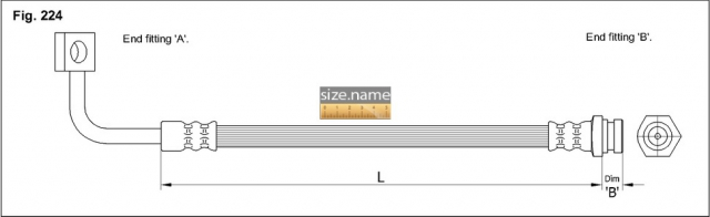 Шланг K&K fig. 224