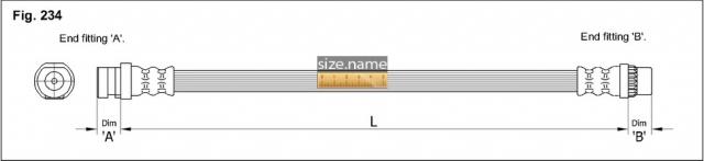 Шланг K&K fig. 234