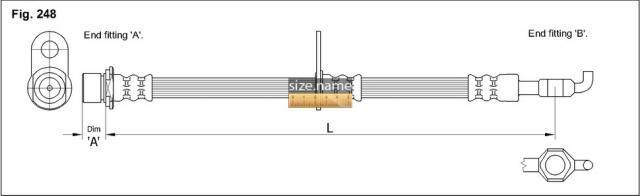 Шланг K&K fig. 248