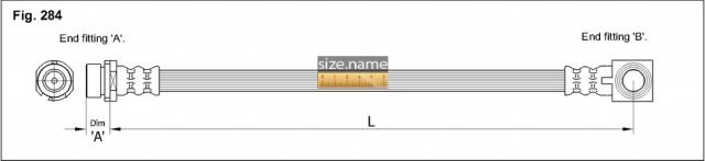Шланг K&K fig. 284
