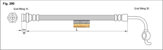 Шланг K&K fig. 290