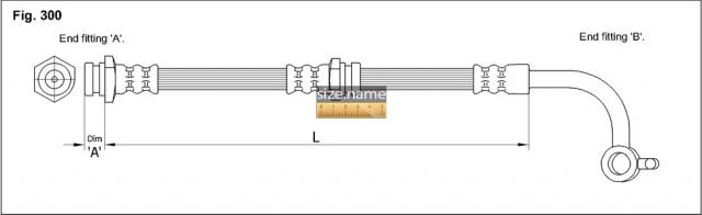 FT5212 размер шланга K&K с фото