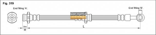 Шланг K&K fig. 319