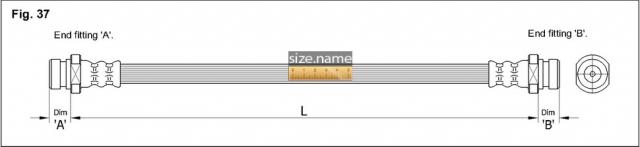 Шланг K&K fig. 37