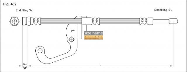Шланг K&K fig. 402