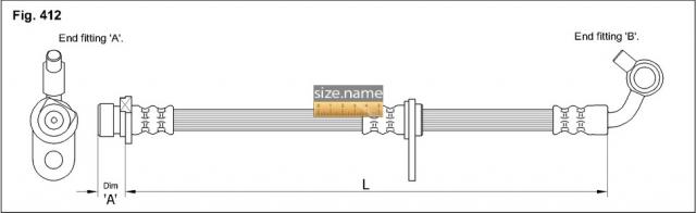 Шланг K&K fig. 412