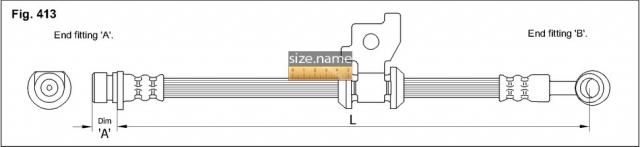 FT3502 размер шланга K&K с фото