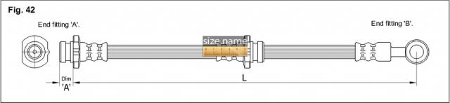 Шланг K&K fig. 42