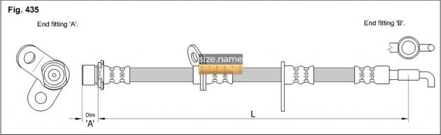 Шланг K&K fig. 435