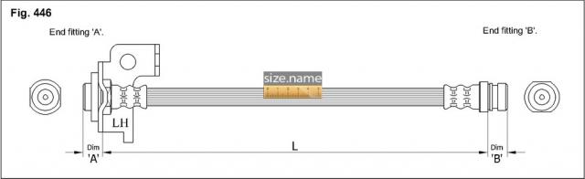 Шланг K&K fig. 446