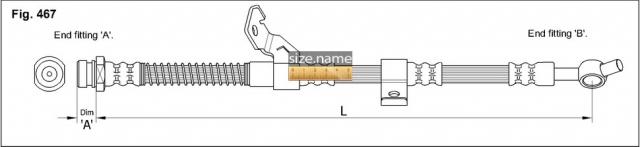 Шланг K&K fig. 467