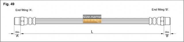 Шланг K&K fig. 49