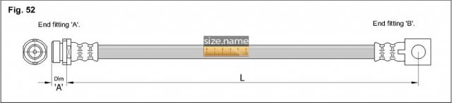 FT2514 размер шланга K&K с фото
