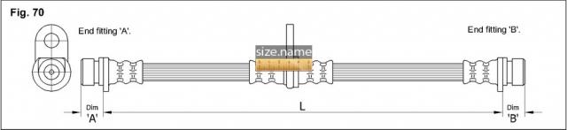 FT3290 размер шланга K&K с фото