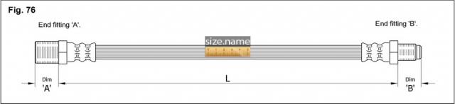FT7027 размер шланга K&K с фото